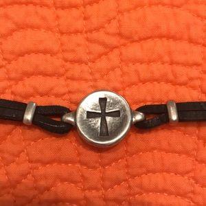 James Avery Cross Medallion Bracelet